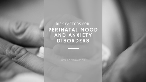 mom with perinatal mood and anxiety disorder
